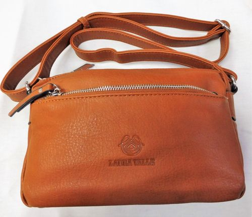 BOLSO MARRON LAURA VALLE