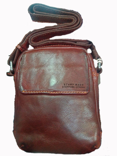BOLSO STAMP WASH STEPPING STRONG COLOR TEJA