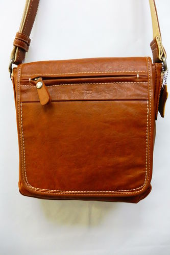 BOLSO MATTIES MARRON CON SOLAPA